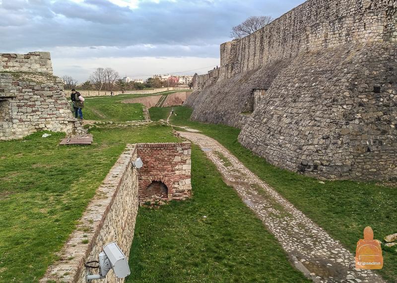 Стены Калемегдана