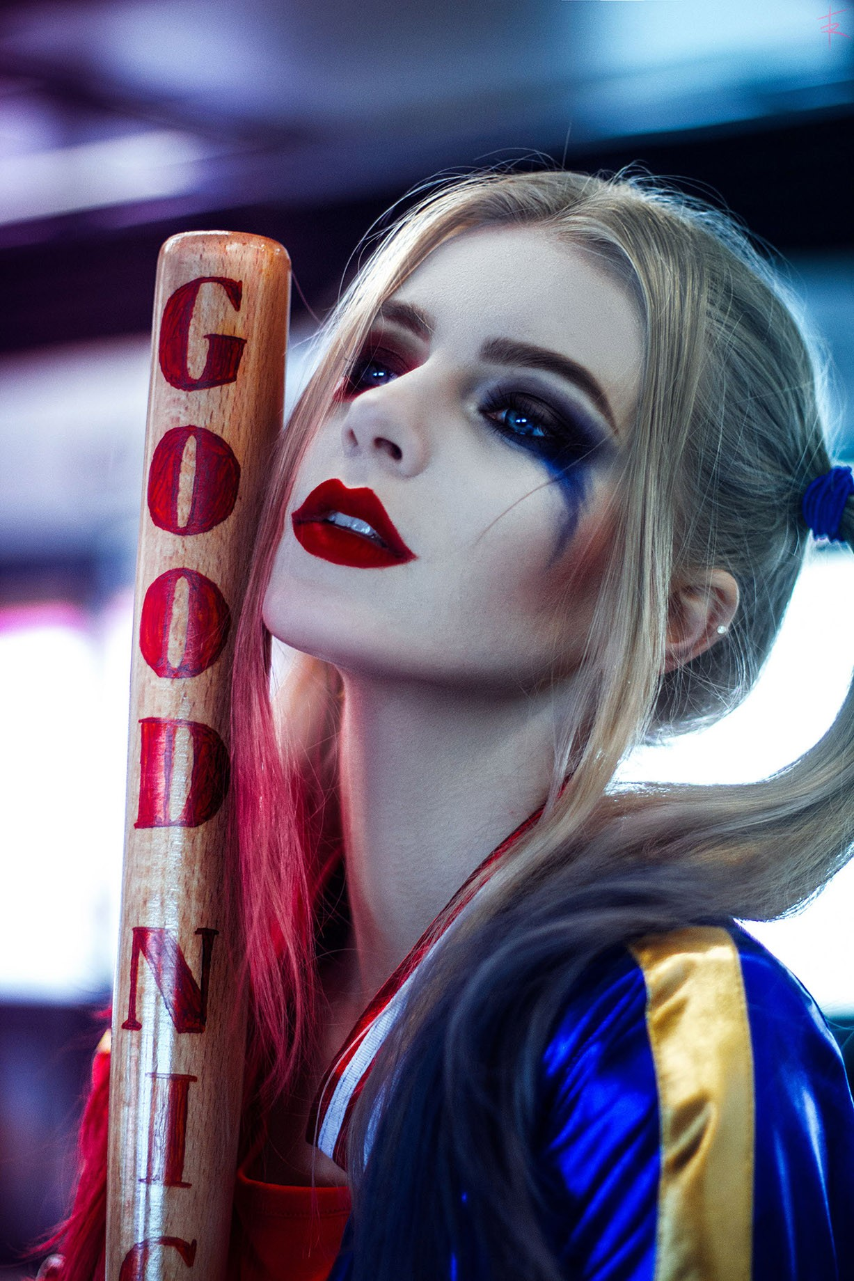 Katie Kosova as Harley Quinn by Tim Rise