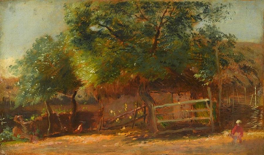 Фермерский двор.