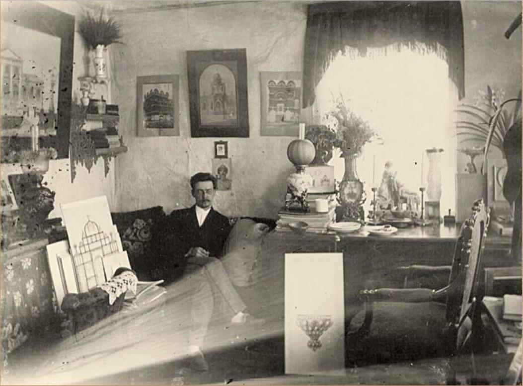 Архитектор Иван Михайлович Васильев - автор проекта Тихвинской церкви