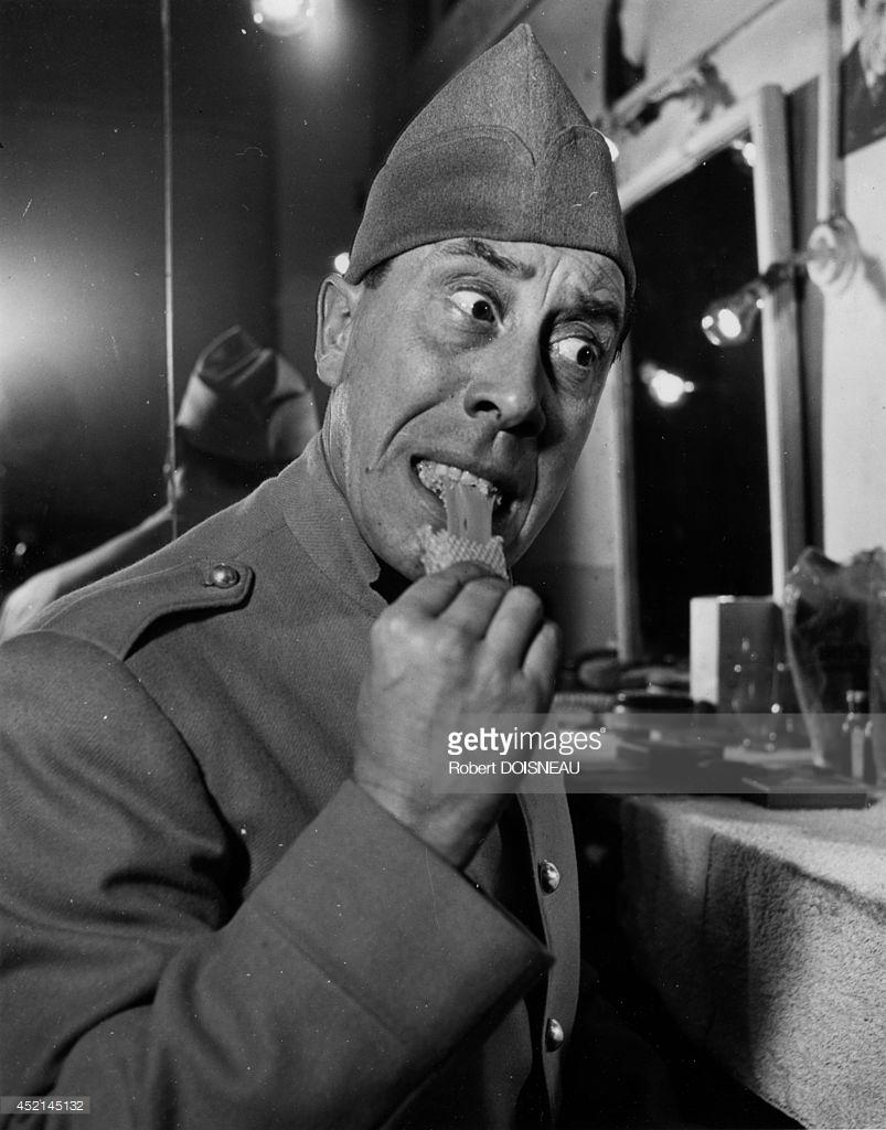 1950-е. Французский актер Фернандель