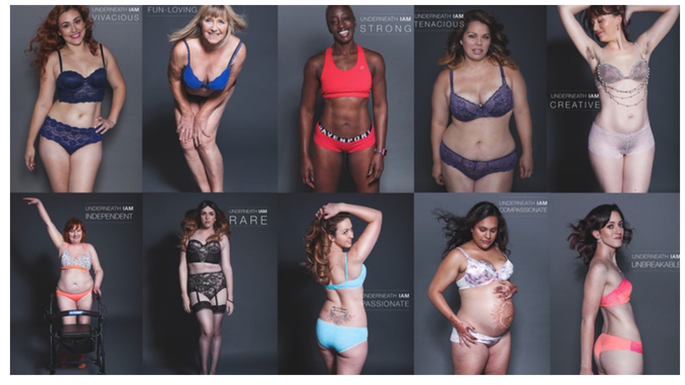 Фотосессия без комплексов: все женщины прекрасны! Или нет? (6 фото)