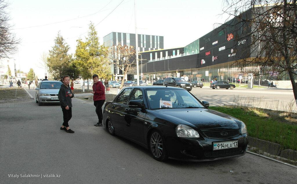 Заниженная приора в Шымкенте