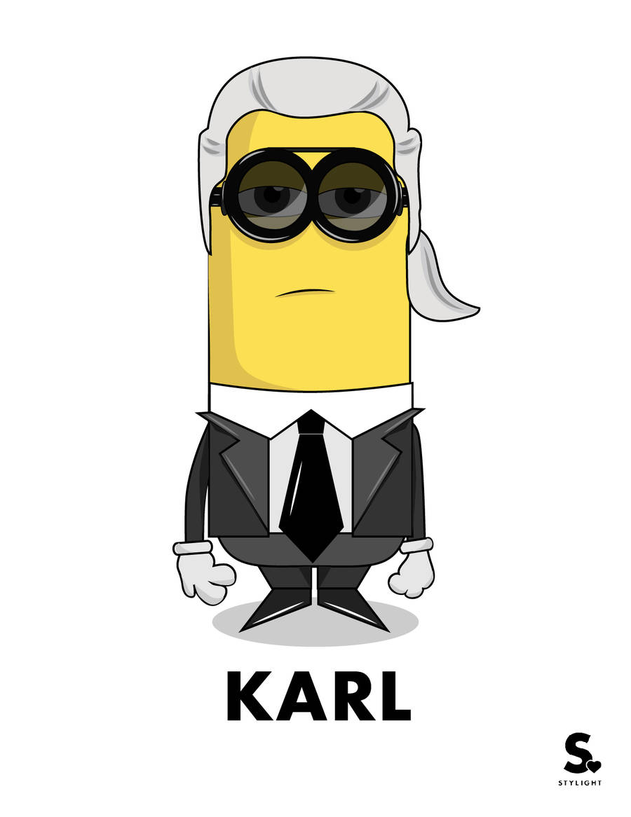 Karl Lagerfeld Fashion icon design collections figurative EDITORIALS magazines