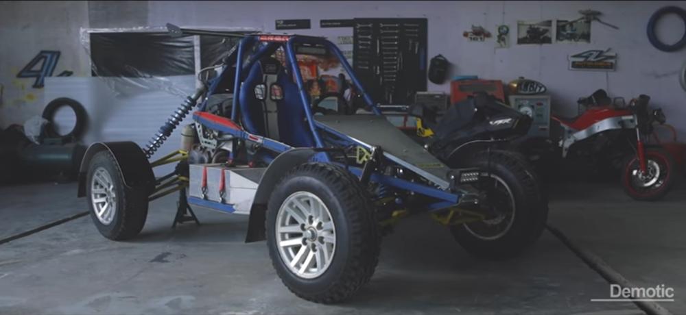 Багги с мотором Honda Fireblade