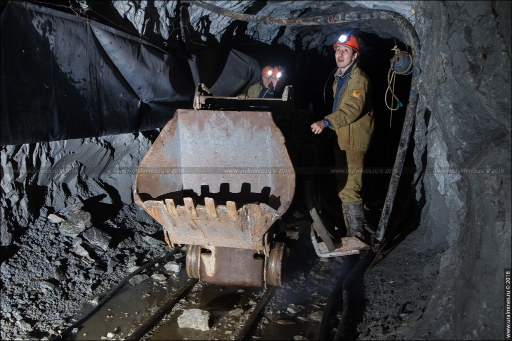 Березовский рудник: Шахта «Северная» гор. -612 м