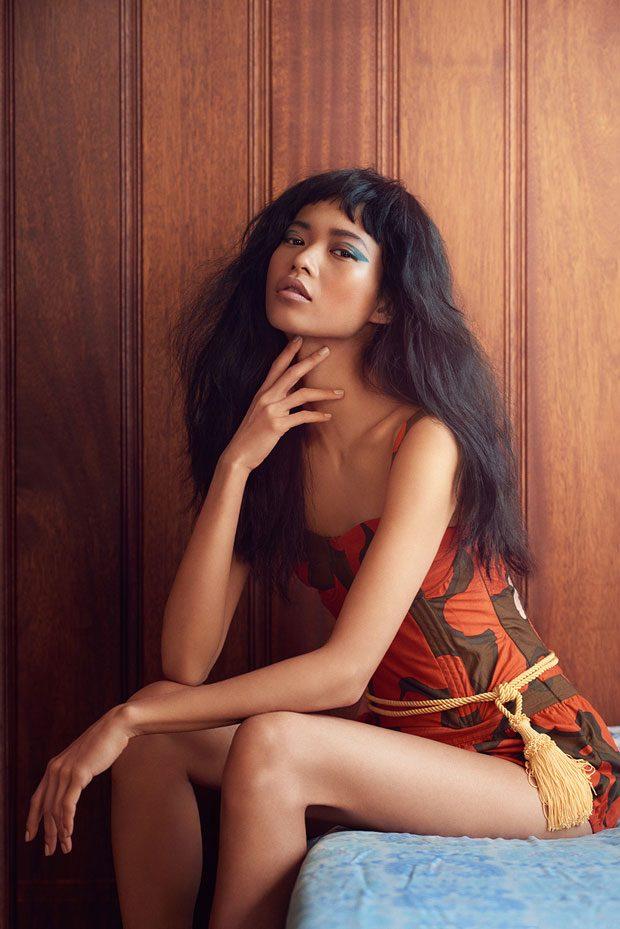 Karmay Ngai Poses For Rebecca Miller