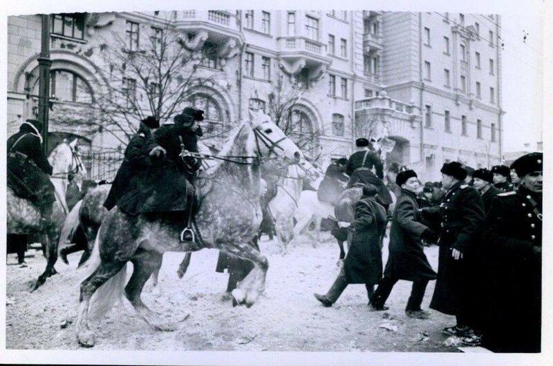 Разгон демонстрации в Москве