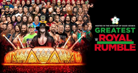 Post image of WWE Greatest Royal Rumble