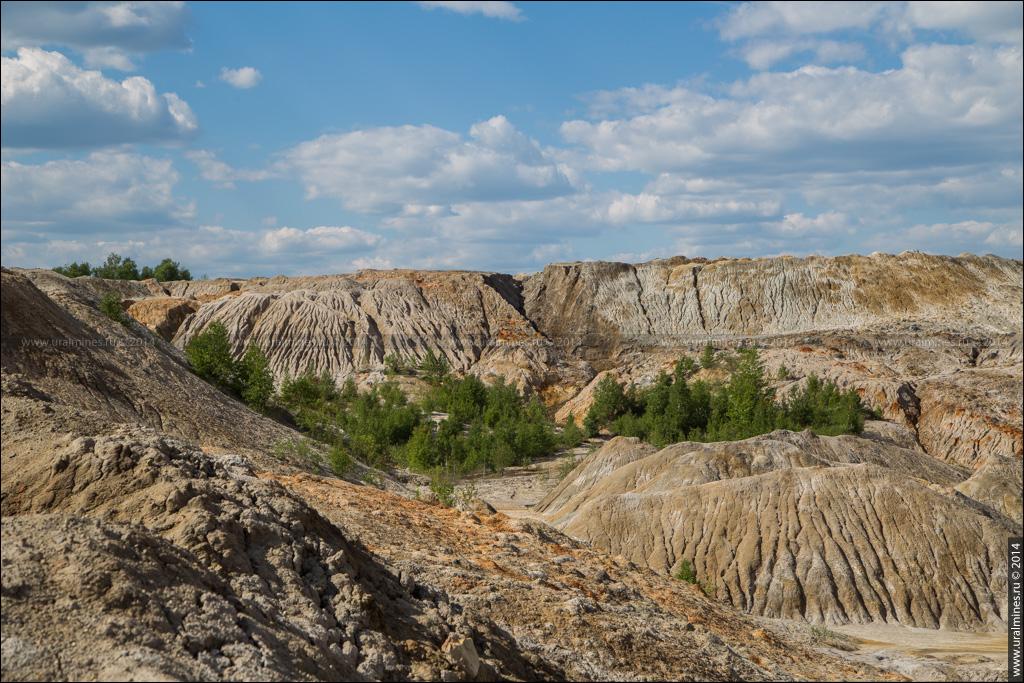 Троицко-Байновское (Богдановичское) месторождение огнеупорных глин