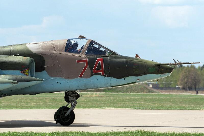 Сухой Су-25БМ (RF-95159 / 74 красный) ВКС России D803272