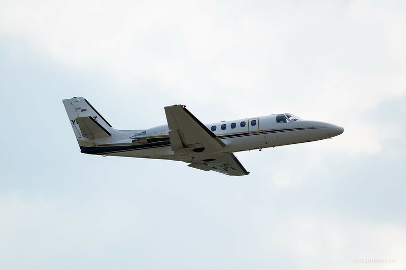 Cessna 550B Citation Bravo (YU-BZZ) Air Pink 0720_D804572