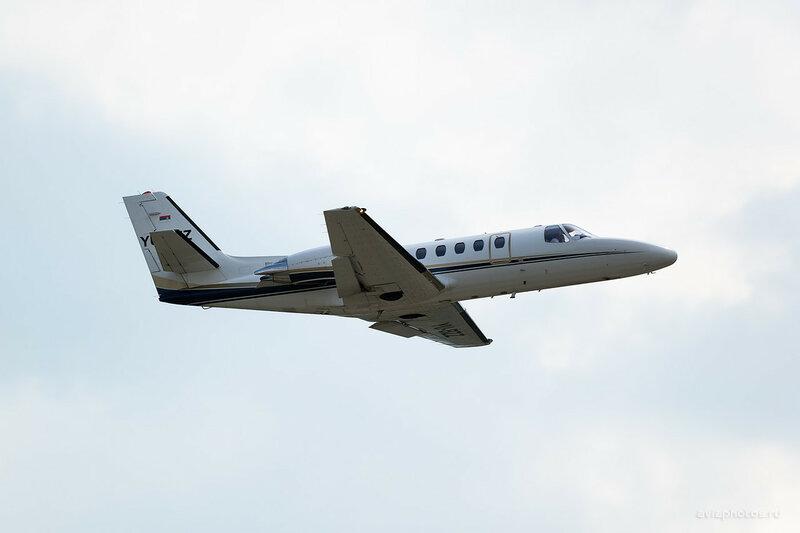 Cessna 550B Citation Bravo (YU-BZZ) Air Pink 0720_D804572