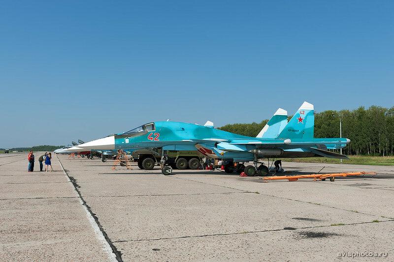 Сухой Су-34 (RF-95857 / 42 красный) ВКС России 1670_D703479