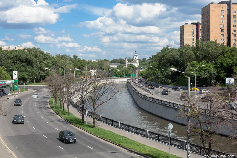 Москва. Яуза и Спасо-Андроников монастырь