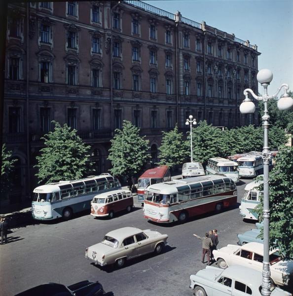1960е Ленинград, Гостиница «Европейская». Тарасевич.jpg