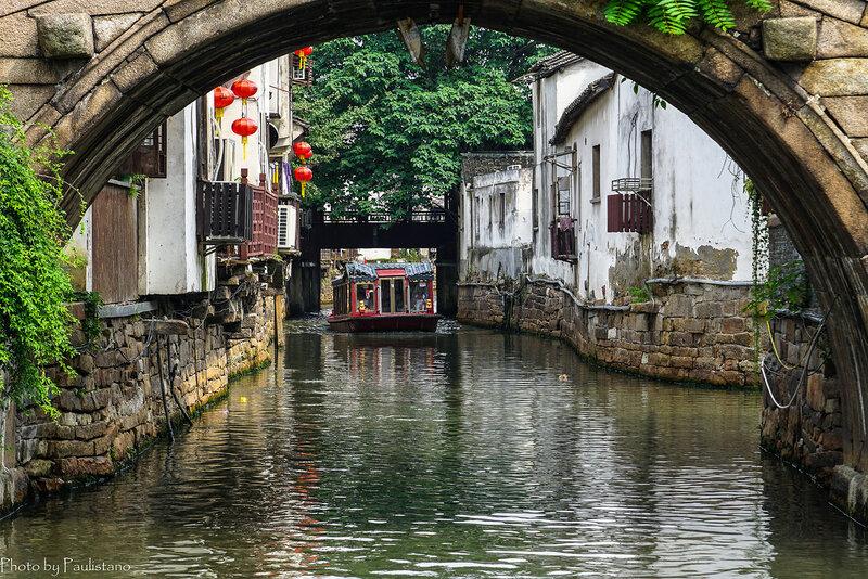 На каналах Сучжоу