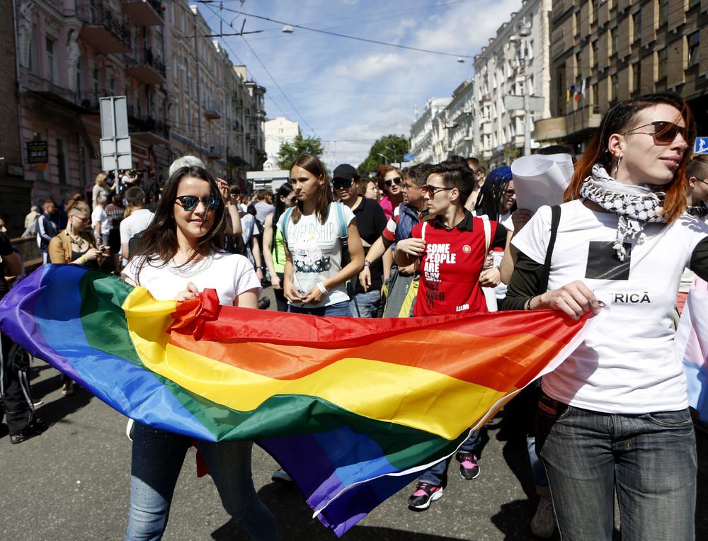 Гей-парад в Украине