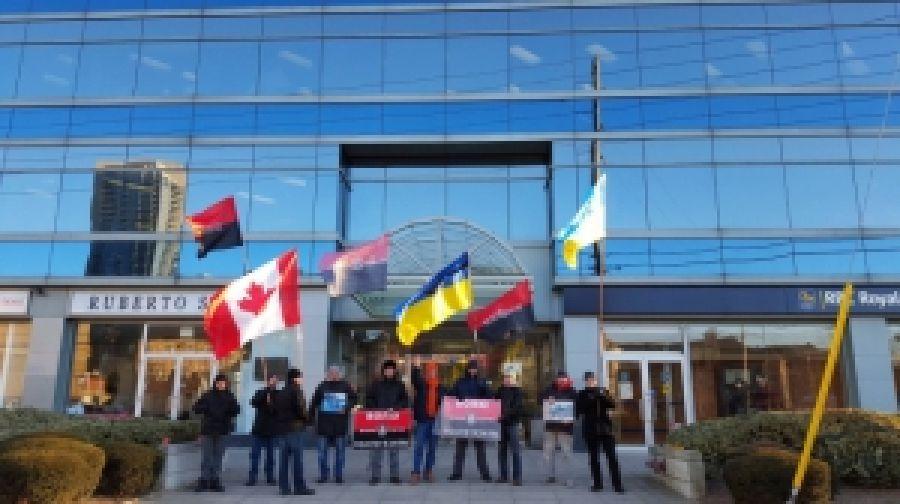 В Торонто тоже требовали освобождения политзаключенных