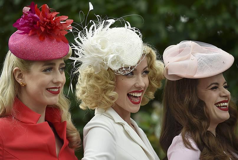 «День леди»: парад шляпок на скачках Royal Ascot 2016 0 165a21 fbb9e362 orig