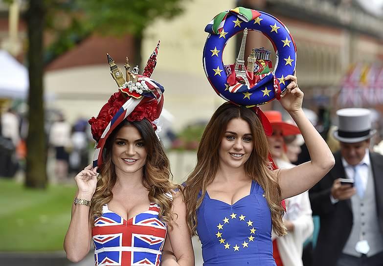 «День леди»: парад шляпок на скачках Royal Ascot 2016 0 165a23 1c3d123a orig