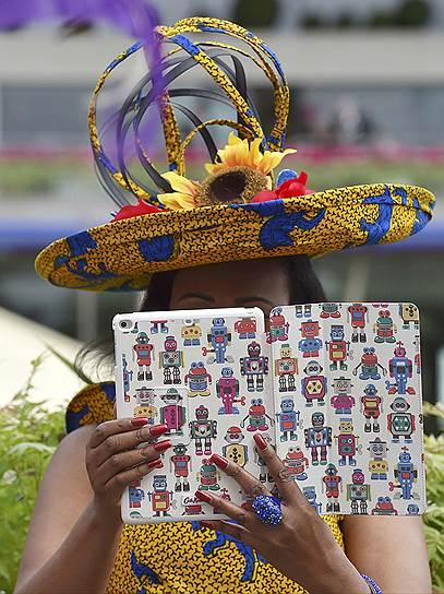 «День леди»: парад шляпок на скачках Royal Ascot 2016 0 165a27 cfe5d669 orig