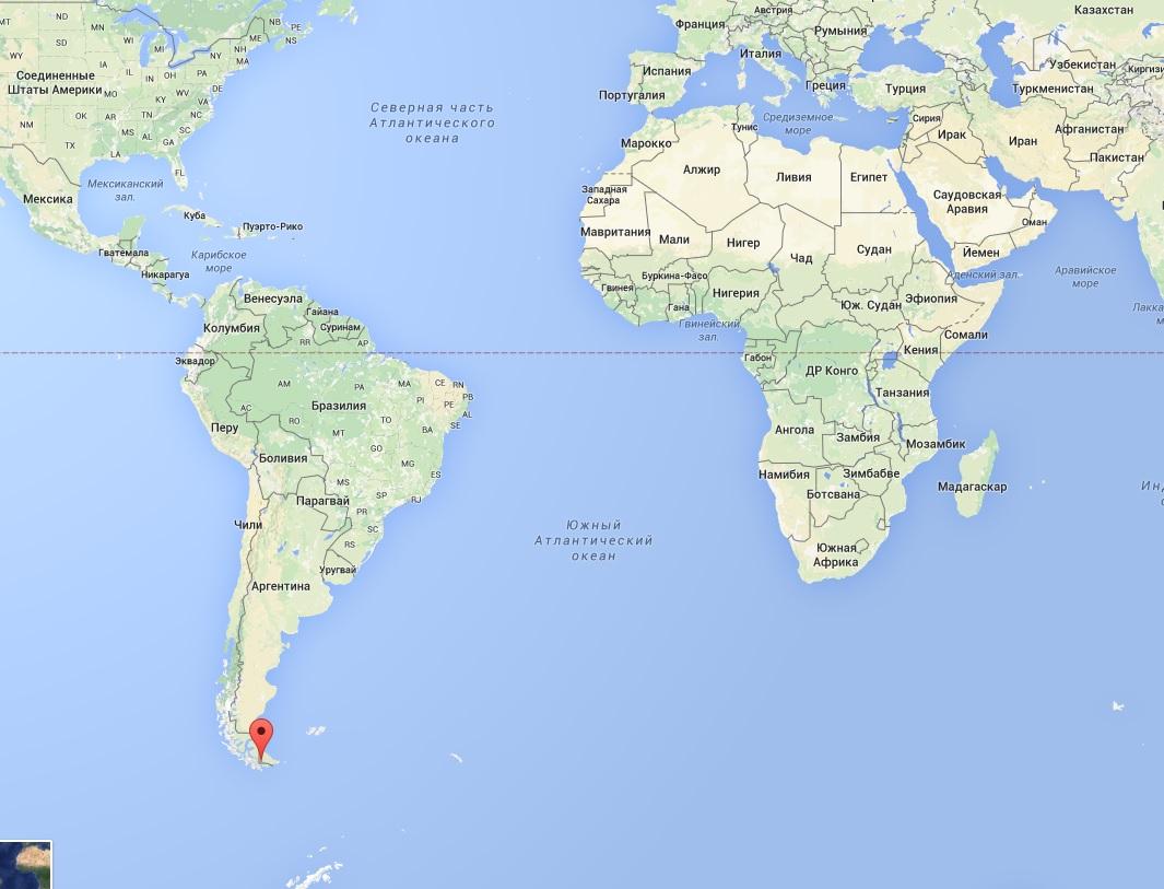 Ушуайя. Самый южный край света