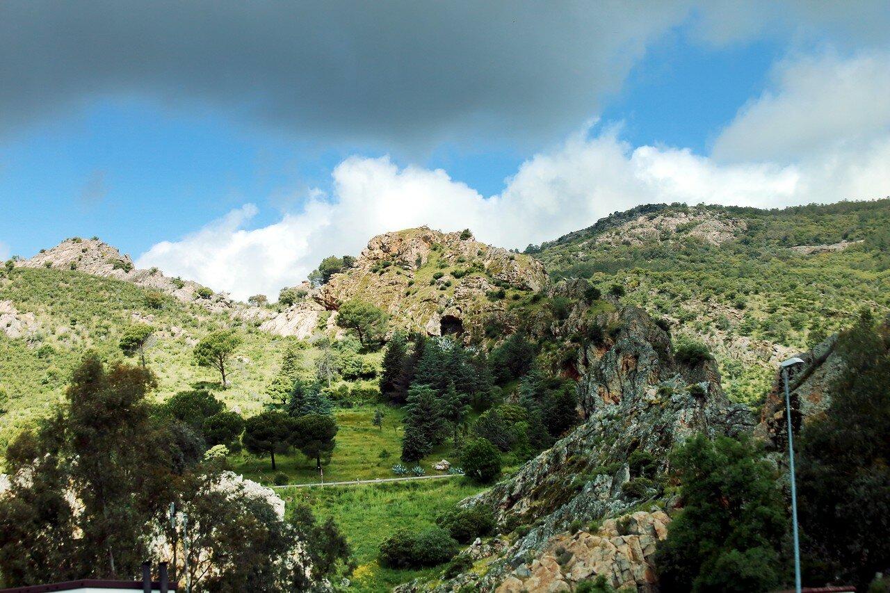 Кордова-Мадрид (Autovía del Sur - A4). Пейзажи Андалусии