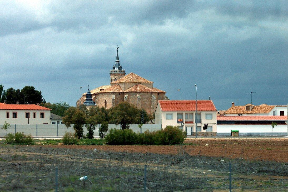 Кордова-Мадрид (Autovía del Sur - A4). Пейзажи Кастилии-Ла-Манча