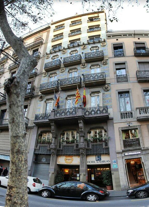 Ramblas. Barcelona