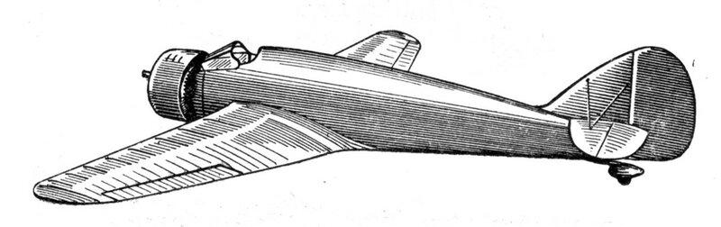 Силуэты итальянских самолетов (1939) 032