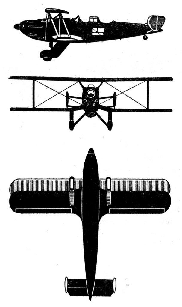 Силуэты итальянских самолетов (1939) 043