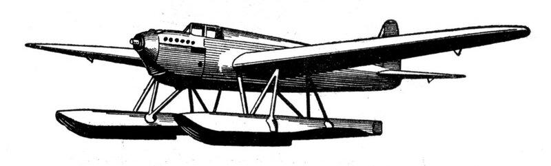 Силуэты итальянских самолетов (1939) 062