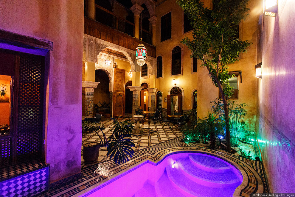 4. Цены за ночь в марокканском риаде начинаются с нескольких долларов и могут доходить до неско