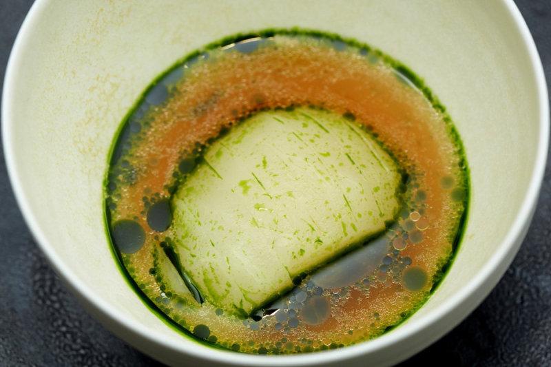 Мы пробовали вариацию этого блюда в традиционном японском ресторане накануне - было интересно попроб