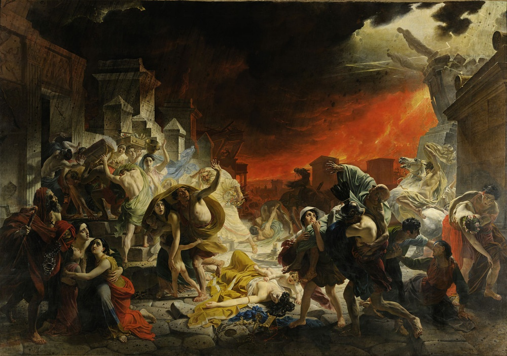 Карл Брюллов, «Последний день Помпеи», 1830–1833