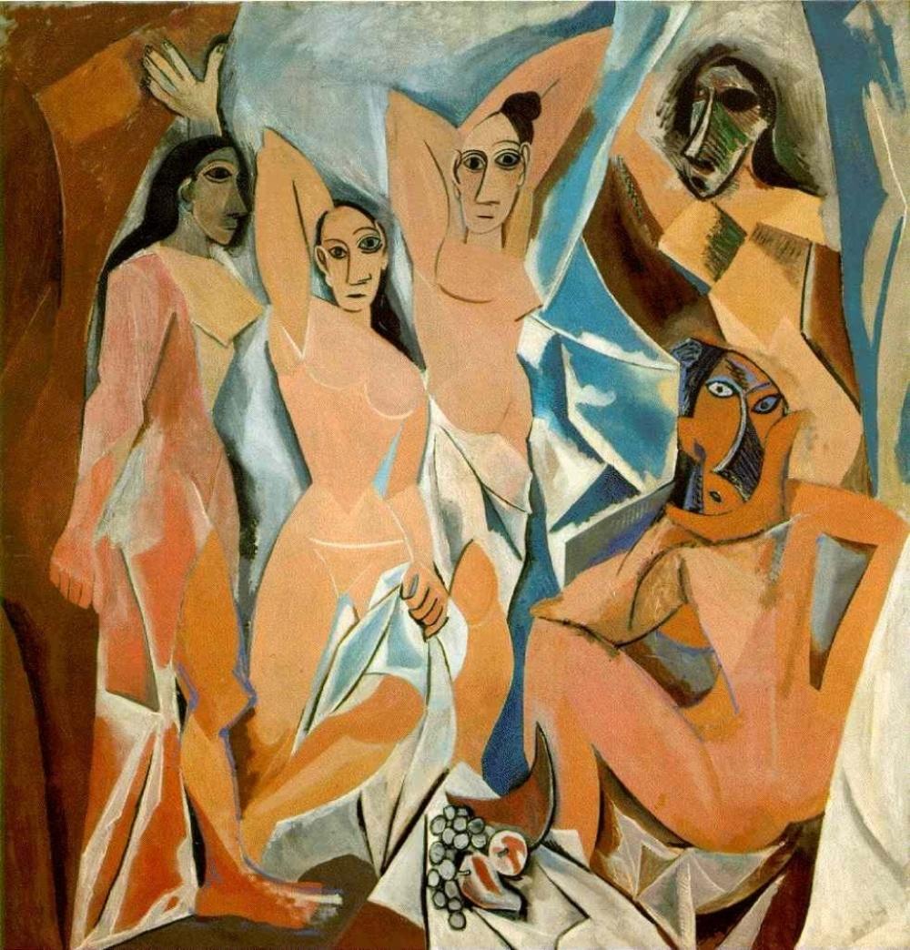 Пабло Пикассо, «Авиньонские девицы», 1907