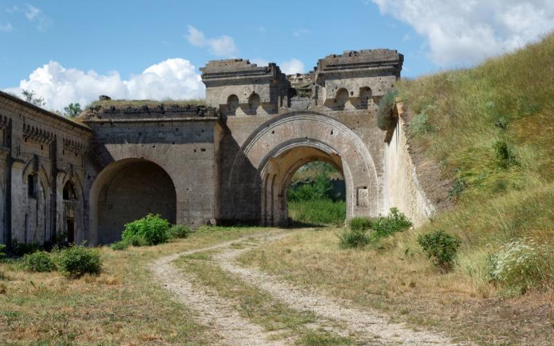Крепость «Керчь» Форт Тотлебен Крепость на берегу Керченского пролива было решено возвести в обход П
