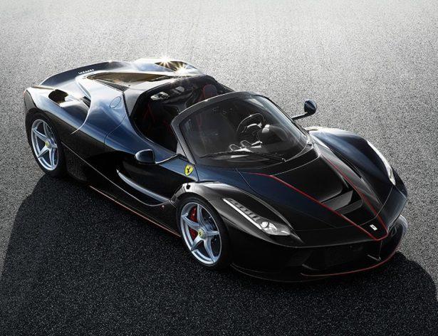 Кабриолет LaFerrari получит гибридный двигатель мощностью 963 л. с.