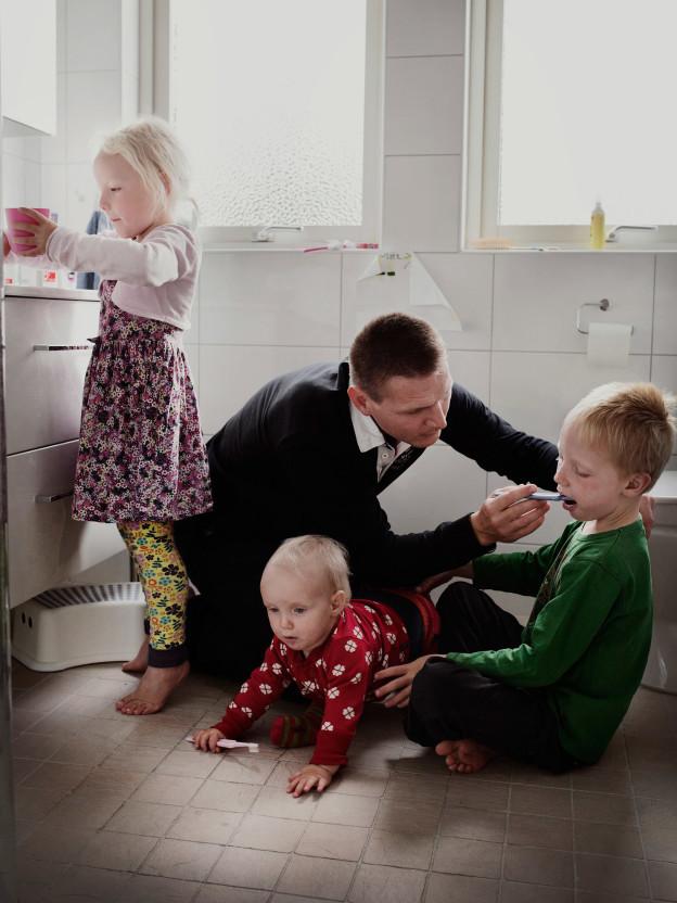 3. Йохан Экенгард, 38 лет, разработчик в компании Sandvik. У Йохана и его жены трое детей: Эббе (7 л