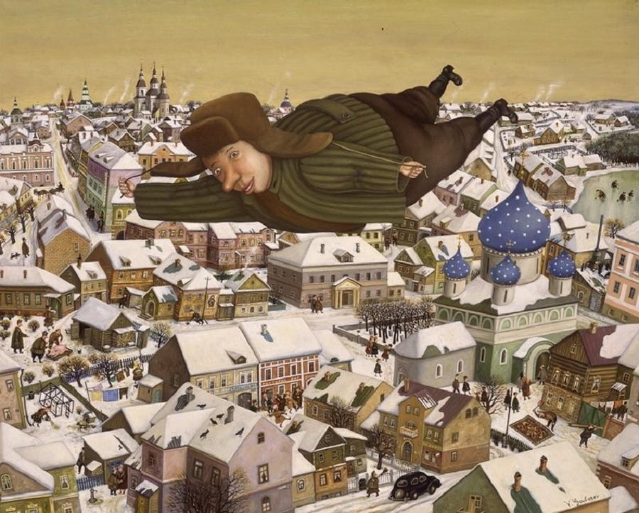 Добрые картины Валентина Губарева