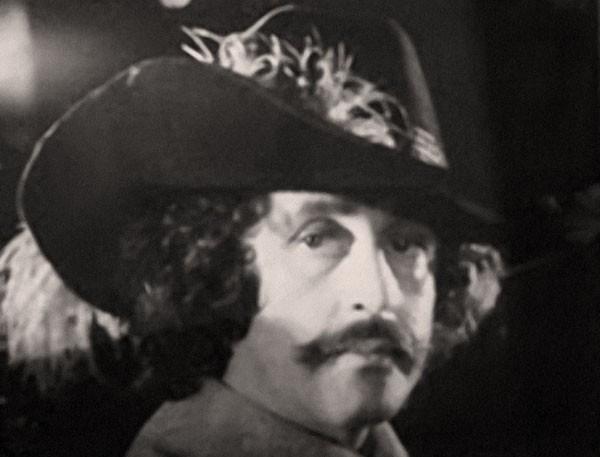 Фотопроба Василия Ливанова на роль Атоса в фильм «Д'Артаньян и три мушкетера», 1978 год. Фотоархив О