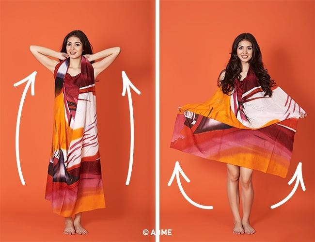 Платье ввосточном стиле