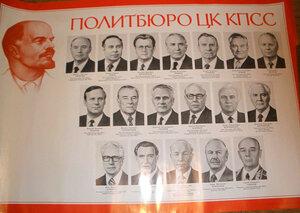 1985. Политбюро ЦК КПСС