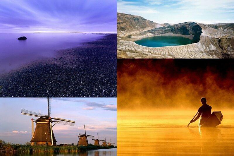 Обои 3D «Водные объекты» (49 красивых фотографий)
