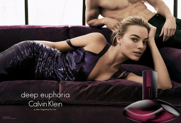 Calvin Klein enlists Australian actress Margot Robbie to star in Calvin Klein's Deep Euphoria 2016 f