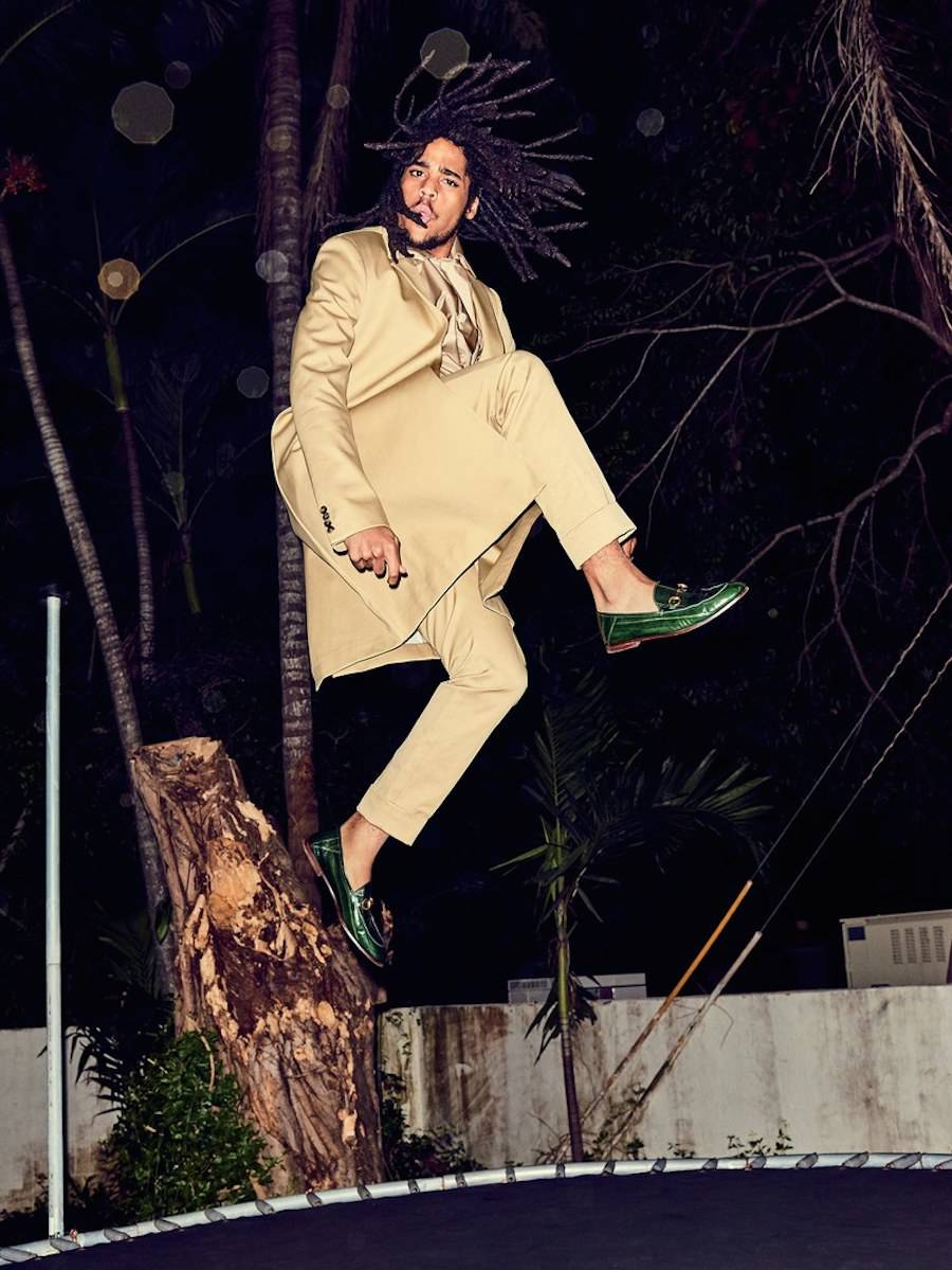 Bob Marley's Family Reunites for a First Photoshoot