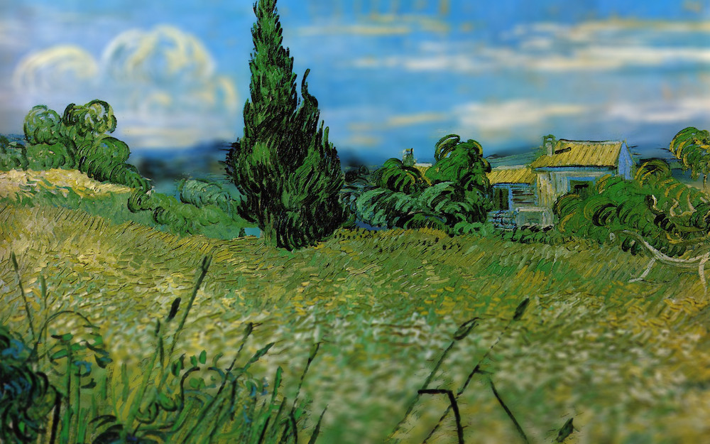 All images via melonshade Despite our humble opinion that Vincent van Gogh's works are stunning as i