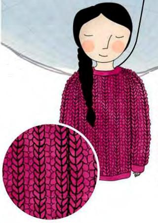 петентный узор для вязания бриошь