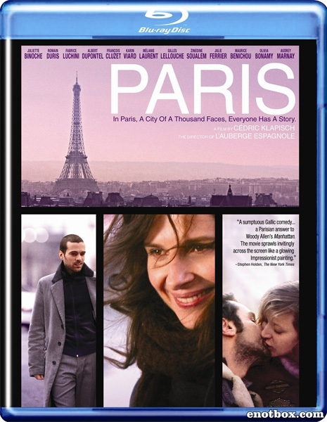 Париж / Paris (2008/BDRip/HDRip)